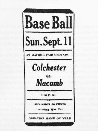 Macomb-Journal-ballgame-ad-1921