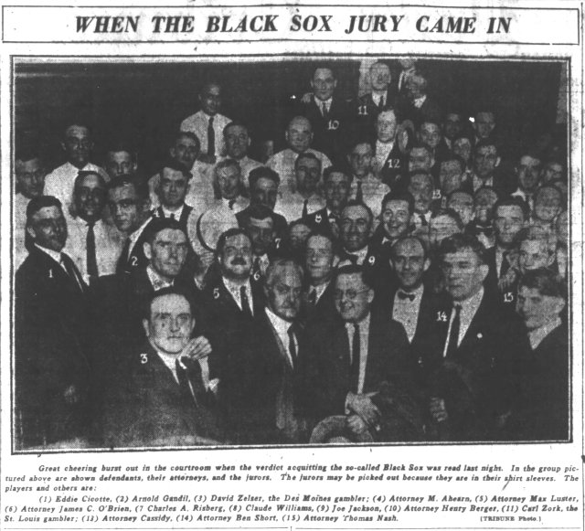 1921-08-03-Black-Sox-jury-photo-ChiTrib