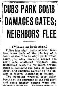 1923-10-15-Cubs-Park-bomb-damages-gates-neighbors-flee-ChiTrib