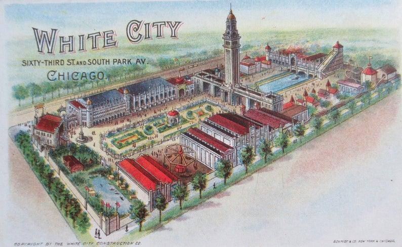 White City Amusement Park, circa 1908 (AUTHOR'S COLLECTION)